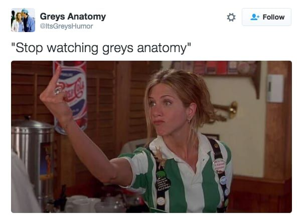 "23 Hilarious Tweets That Are Way Too Real For ""Grey's Anatomy"" Fans"