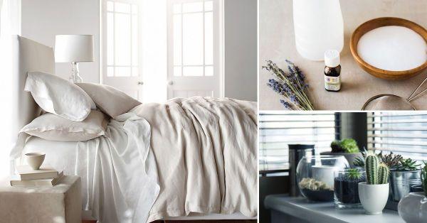 Desinfecta tu dormitorio con estos 6 consejos
