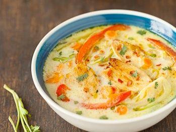 """""""Thai Chicken Soup"""" from Cookstr.com #cookstr"""