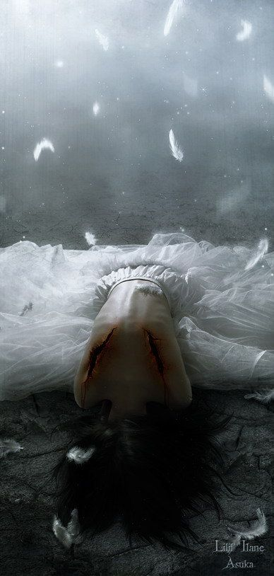An Angel Stripped Of Her Wingsthe Fallen Angels Were Stripped Of Their Power At The-3561