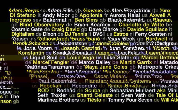 The Amsterdam Dance Event (ADE), the world's largest club-based festival and conference for electronic music, will take place this year from the 19th to 23rd of October. The organisers are expecting around 375,000 national and international visitors for the 21st edition. The first wave of festival acts is revealed today, along with further keynote speakers …
