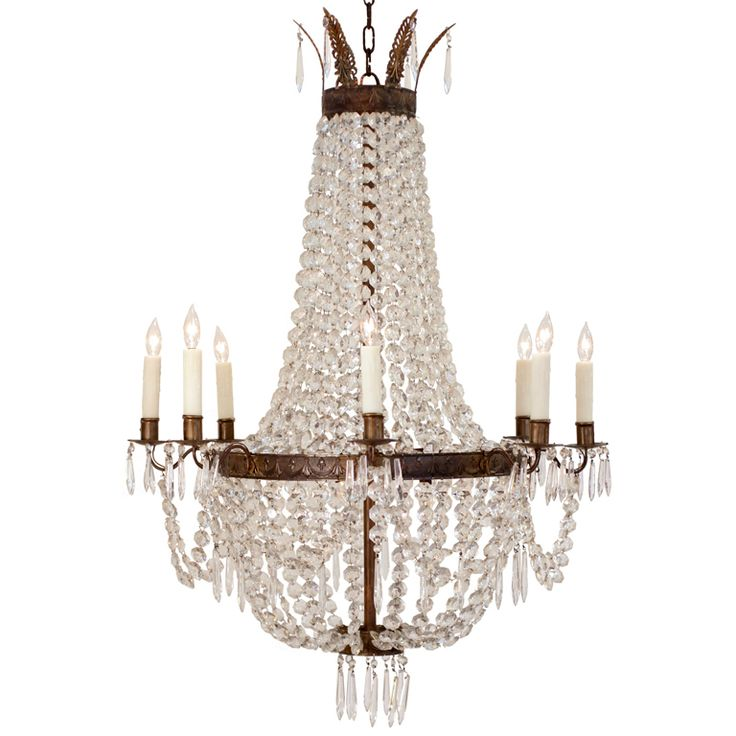 30 Best FRENCH EMPIRE CHANDELIERS Images On Pinterest
