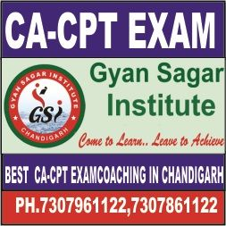 http://www.gyansagarinstitute.com/ca-cpt-coaching-in-chandigarh/  join a gyan sagar institute  call now : 7307691122,7307961122 9316161122,9316171122