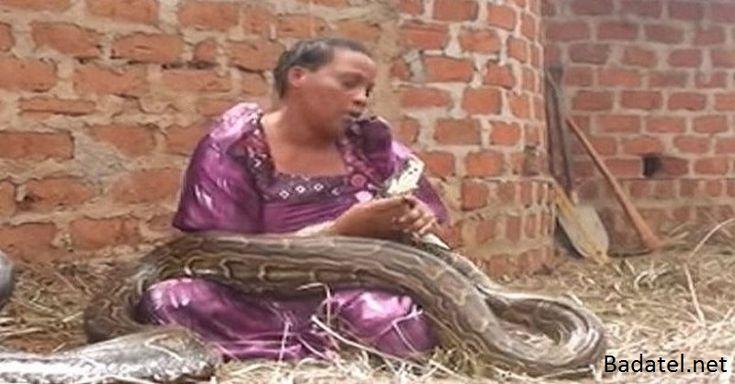 Táto žena spávala s hadom. Potom jej veterinár povedal čosi šokujúce