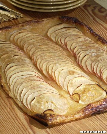 Martha Stewart's Apple Tart