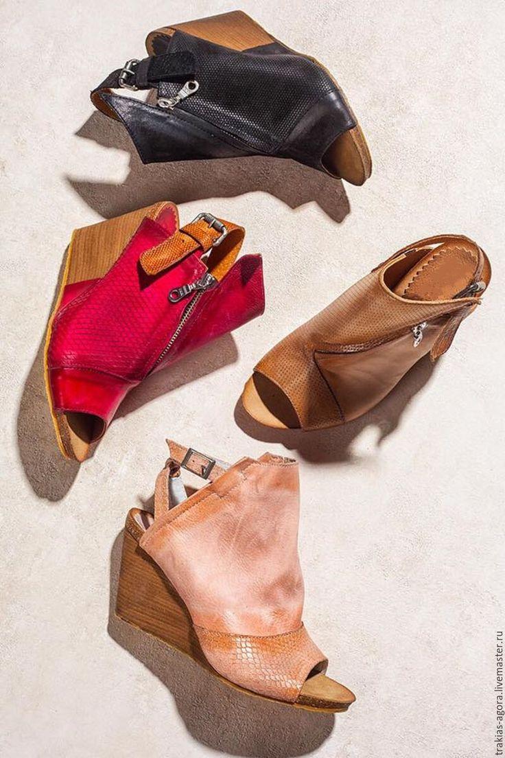 Купить Босоножки 470 - комбинированный, босоножки, босоножки летние, босоножки женские, босоножки из кожи, сандалии