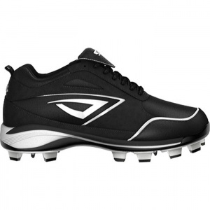 Womens 3N2 Rally PT Softball Cleats Black Suede - ONLY $84.95