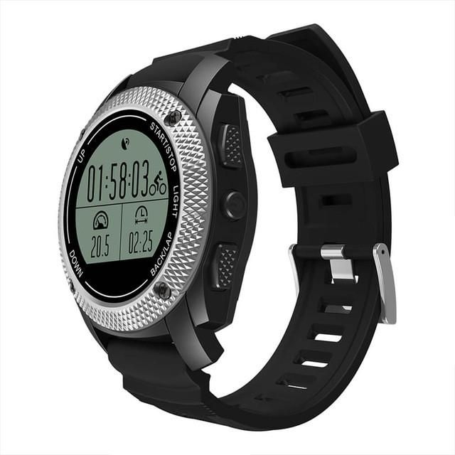 Makibes G02 Smart Sport Watch GPS Heart Rate Monitor Pressure/Temperature Measurement Outdoor Fitness Tracker for Android iOS