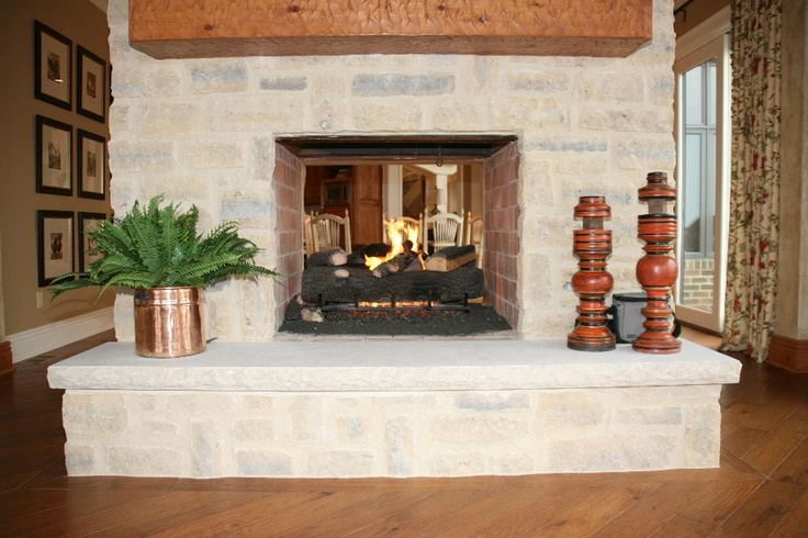 17 Best Images About Double Sided Fireplace On Pinterest
