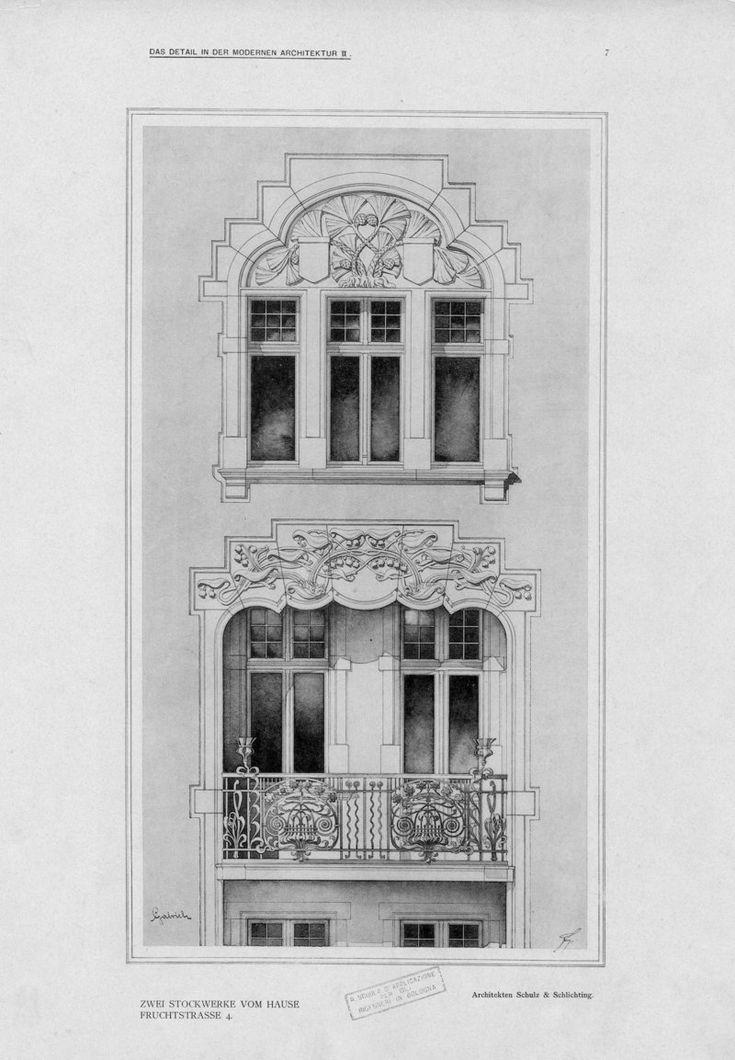 Serie II: Einzelheiten neuer berliner Bauten | Fiedler, L.
