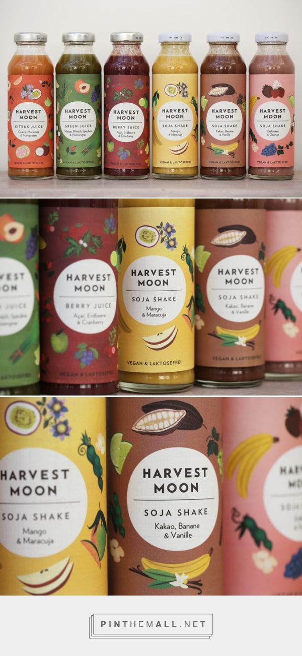 Irving & Co curated by Packaging Diva PD. Irving & Co have re-named the brand, Harvest Moon (previously Whollees), creating a new brand identity and packaging design which conveys the gentle, caring ethos of the company founder.