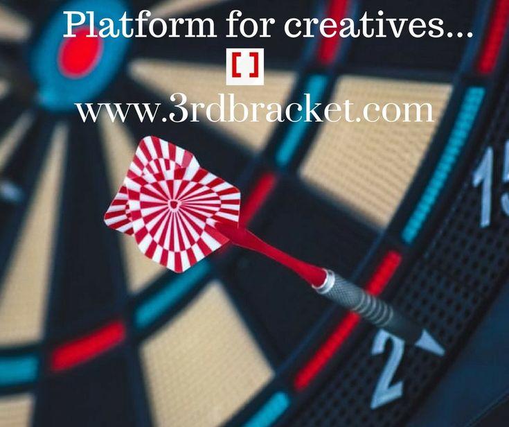 Platform for creatives. 3rd Bracket : http://www.3rdbracket.com .. #creativity #creative #freelancer #logodesign #logo #logodesigner #creatives