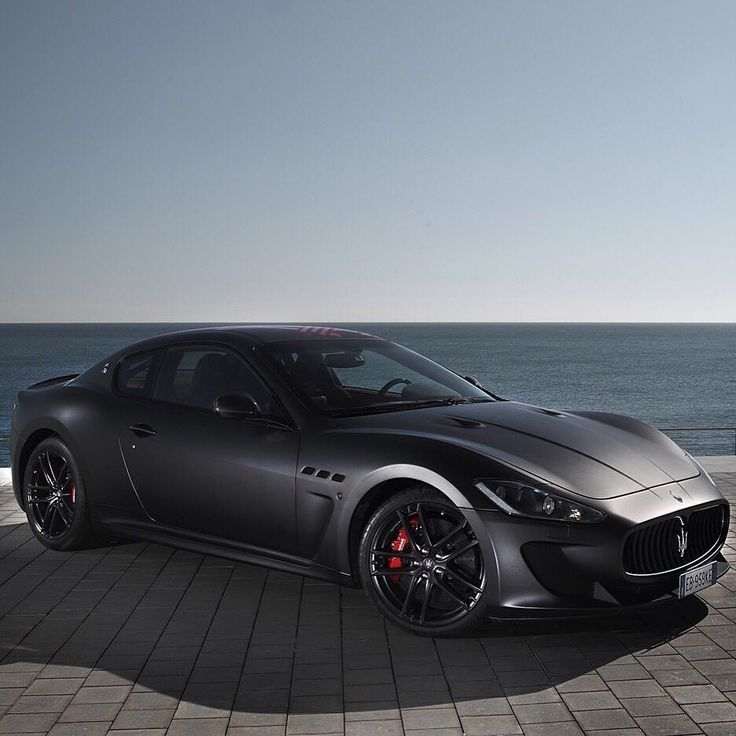 Maserati Gran Turismo, Matt Black Repost: @inspirationalmotors #Maserati #GranT …  – Luxusautos