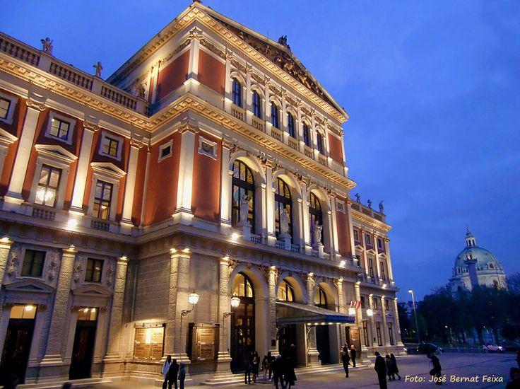 Musikverein 's nachts, Wenen