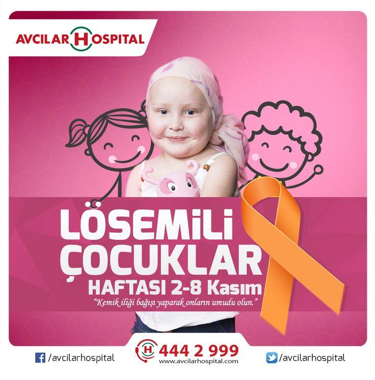 Lösemi asla bir bulaşıcı hastalık değildir. Sade Lösemiye karşı değil, bütün hastalıklardan kendimizi koruyalım. Nasıl mı? Temizliğe, yiyeceklerimize ve dengeli beslenmeye dikkat ederek hastalıklardan korunabiliriz ve kemik iliği bağışı yaparak lösemi hastalarının umudu olabiliriz.  #leukemia #kid #lösemi #kanser #kankanseri #acil #kan #saglik #saglikliyasam #lösemilicocuklarhaftasi #health #life #istanbul #avcilar #avcilarospital #hayat #lösemi #umut #hope #sağlık