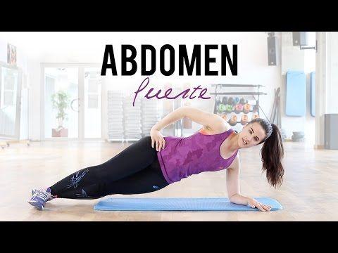 Abdomen fuerte con ejercicios de core | 10 minutos - YouTube