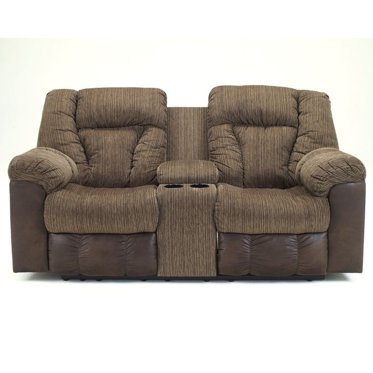 Ashley Furniture Clearance Sales | Ashley Furniture Troubadore Double Reclining Power Loveseat with ...