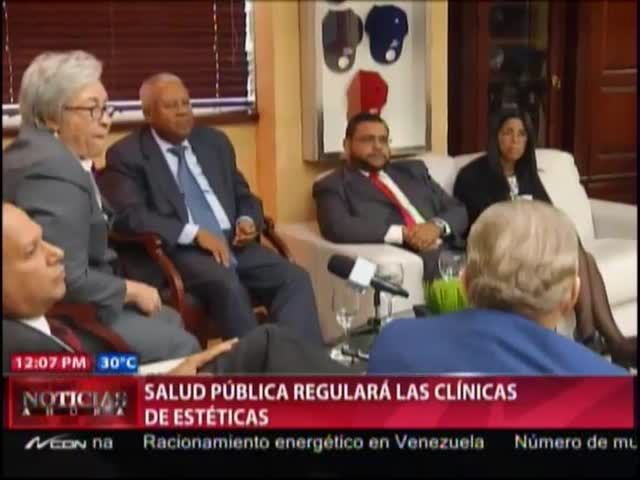 Salud Pública Regulara Las Clínicas Estéticas #Video
