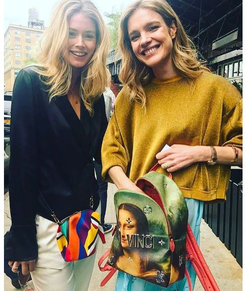 Doutzen Kroes et Natalia Vodianova à New York