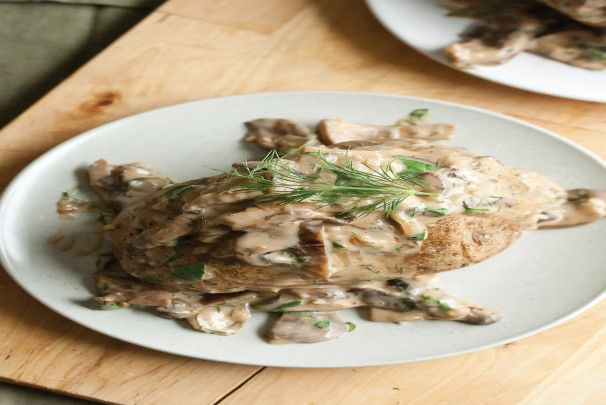Baked Potatoes With Creamy Mushroom Ragout. Photo by Info4YourLife