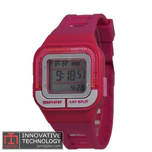 jam tangan digitec wanita DG-3026T pink