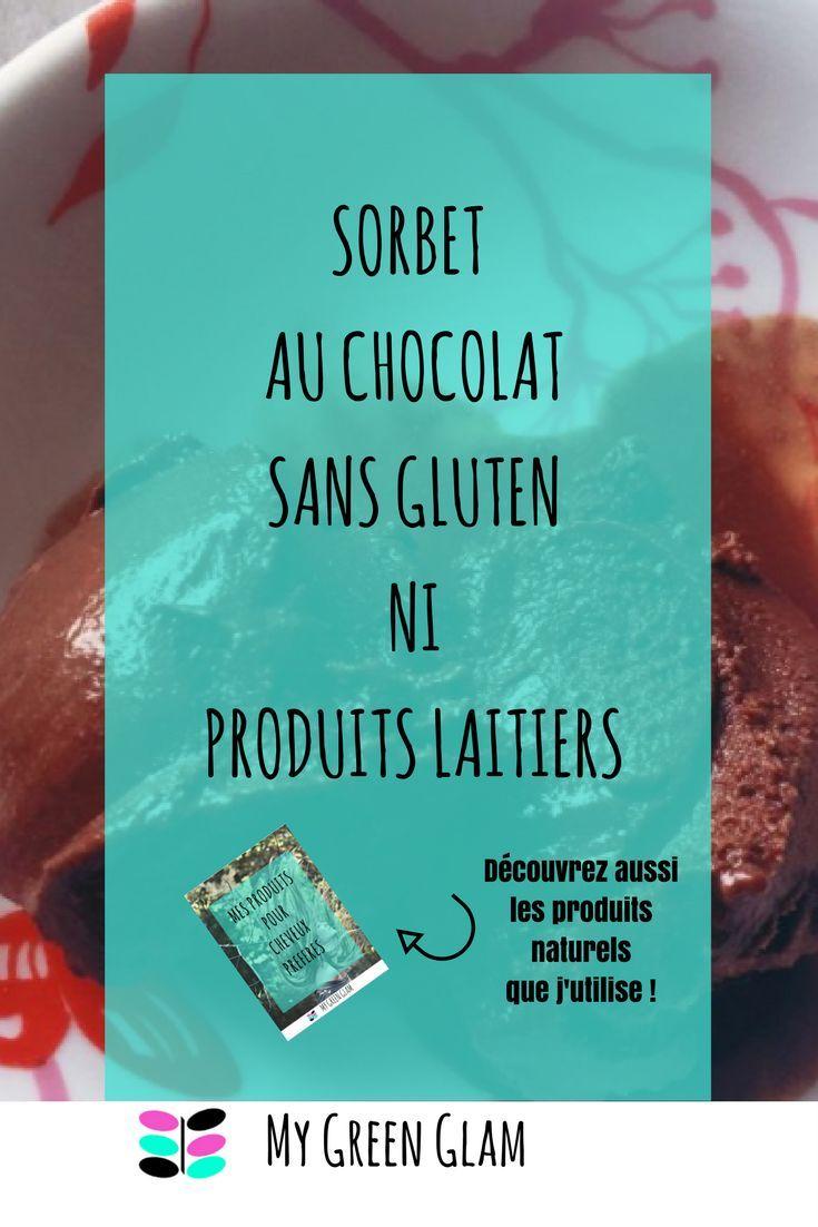 Un délicieux sorbet garanti sans gluten ni produit laitier !