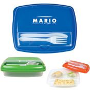 Dual Compartment Lunch Box - gift?