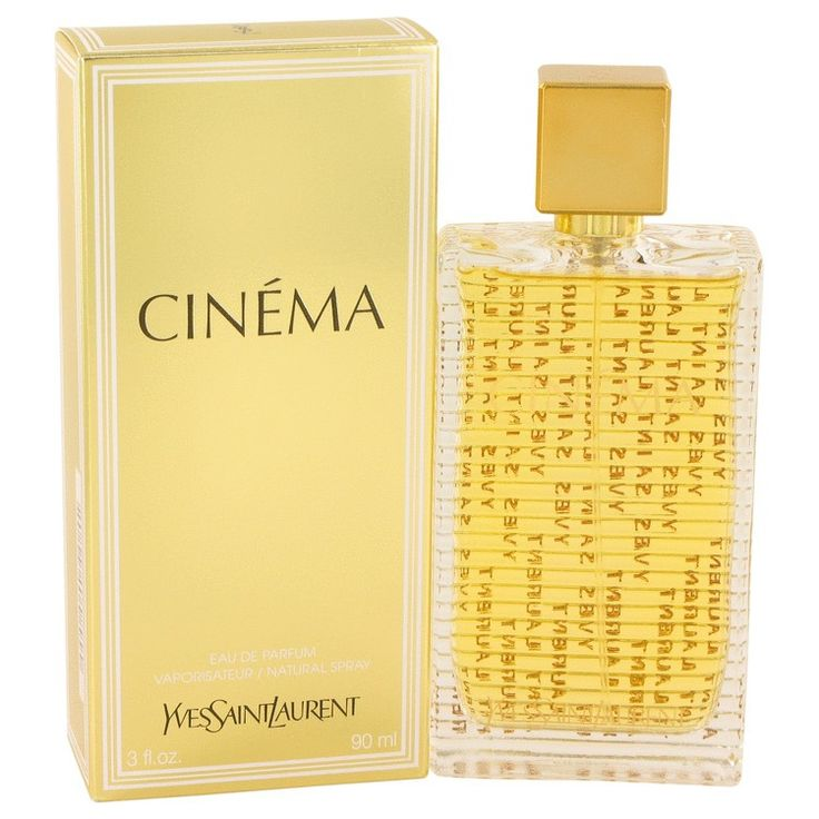 New #Fragrance #Perfume #Scent on #Sale  Cinema by Yves Saint Laurent 3 oz / 90 ml EDP Spray - Cinema by Yves Saint Laurent will make any woman feel like a glamorous star. Invigorating blend of clementine, almond tree blossoms and cyclamen for the romantic top notes. The heart of the fragrance includes ambergris, white musk, vanilla, finishing off this romantic scent is amarylis, jasmine and peony.. Buy now at…