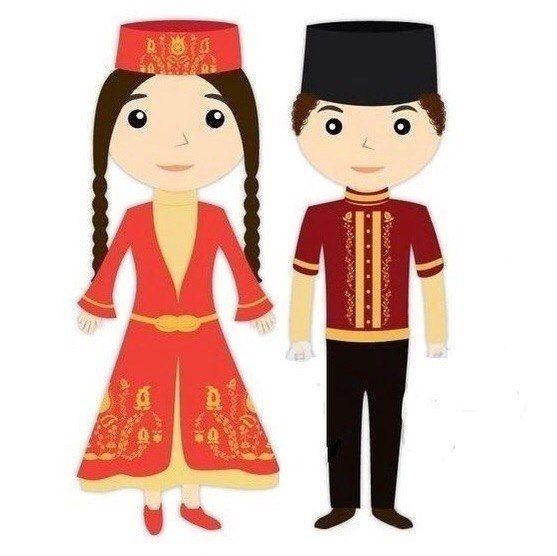 Картинка татарские дети