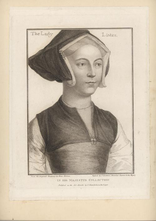Hans Holbein - Lady Lister