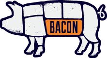Self explanatory.  It is named Bacon after all.  Breakfast and burgers look good.  All under $10.  10th and Lamar ish.
