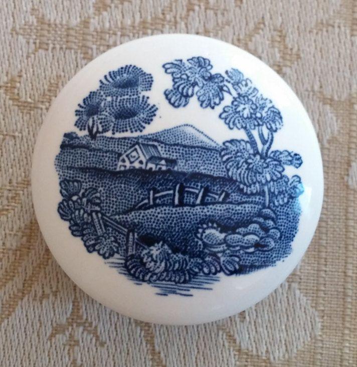 ADAMS English Ironstone Trinket Box by EleganceFromBillie on Etsy