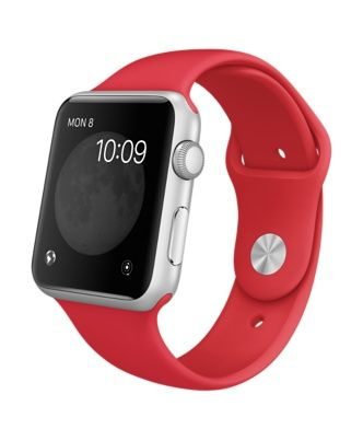 Apple Watch Sport - Silver Aluminum Case with [PRODUCT] Red Sport Band (38mm or 42 mm)   Only Available until February 22, in China, Hong Kong, Taiwan, Singapore and Malaysia.