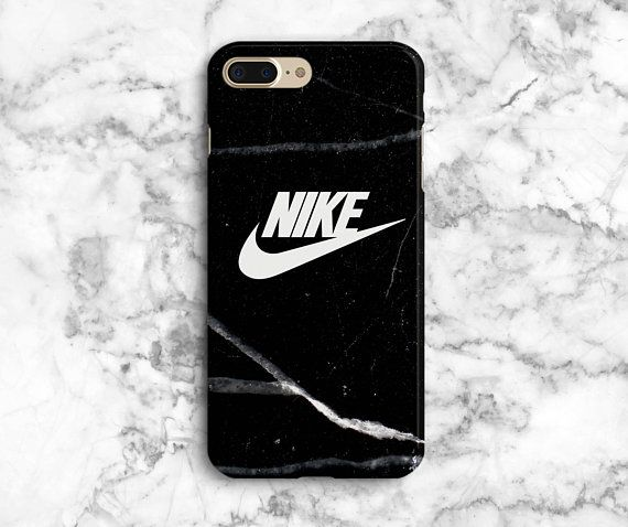check out 2e880 ec6d0 Black Nike iPhone 8 Plus case, iphone x, marble iphone 8 Plus case ...