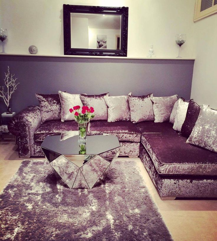 1000 ideas about velvet corner sofa on pinterest corner for U shaped sofa in living room