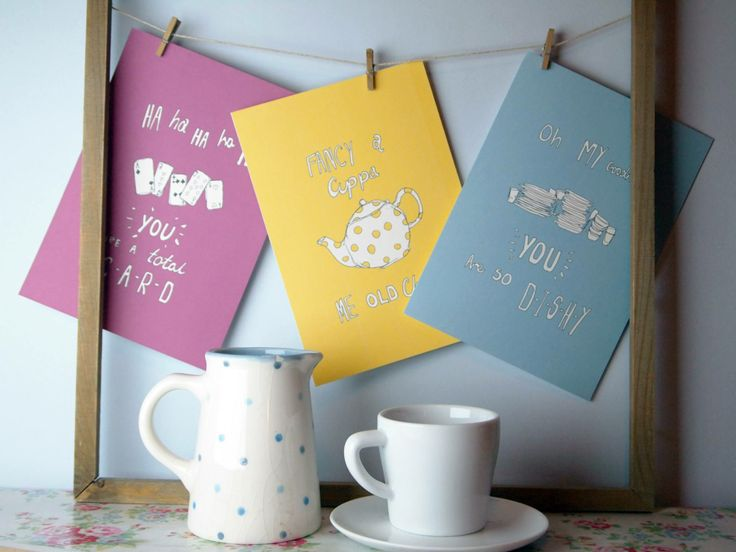 Set of Notecards now available at www.homemadehouse.co.uk
