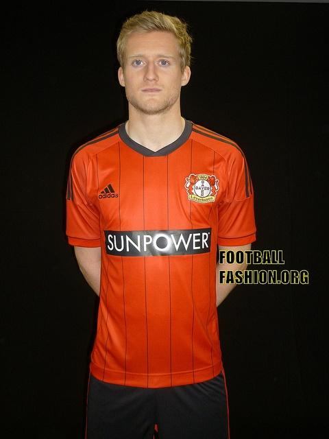 Bayer 04 Leverkusen adidas 2012/13 Home Kit