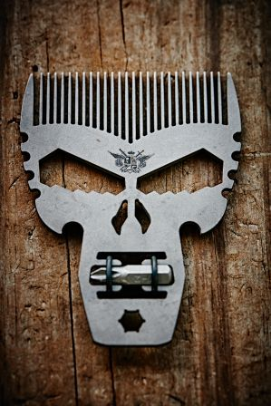 Punisher Comb Tool Titanium EDC