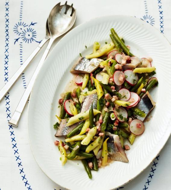 Bohnensalat mit Matjes Rezept - [ESSEN UND TRINKEN]