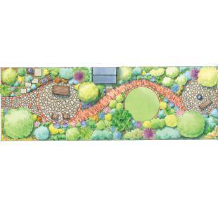 Garden Design Long Narrow Plot