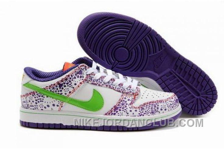 http://www.nikejordanclub.com/italy-mens-nike-dunk-low-cut-shoes-white-purple-green.html ITALY MENS NIKE DUNK LOW CUT SHOES WHITE PURPLE GREEN Only $89.00 , Free Shipping!