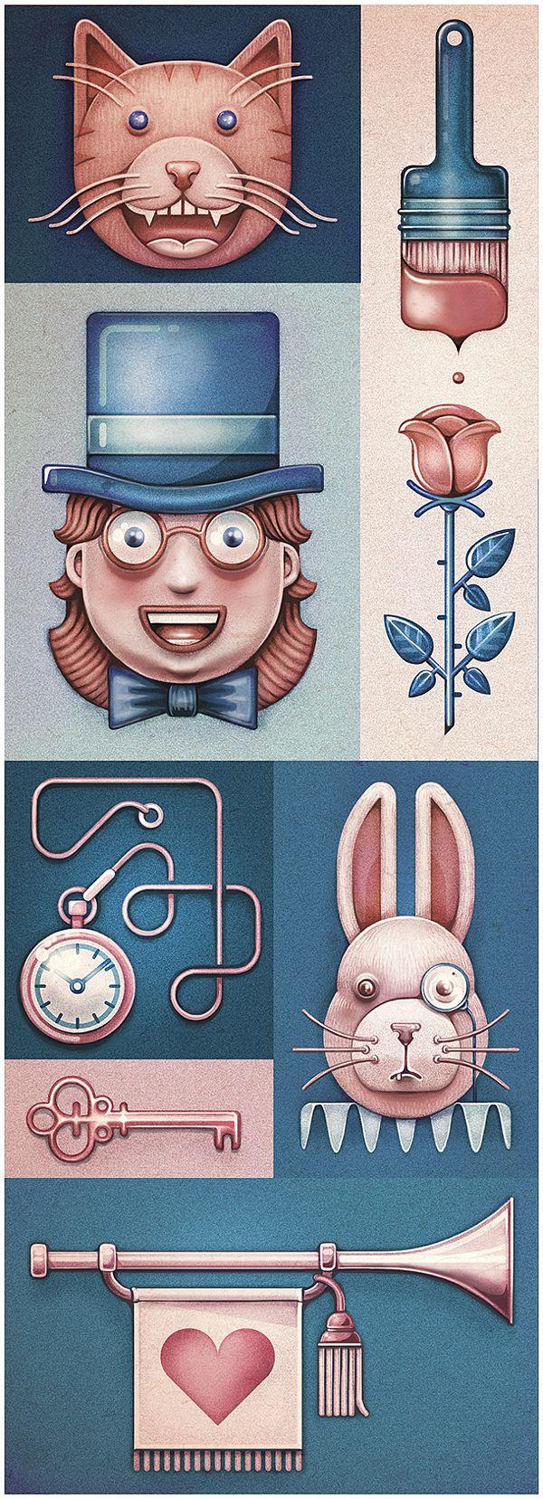 Alice's Adventures in Wonderland by MUTI