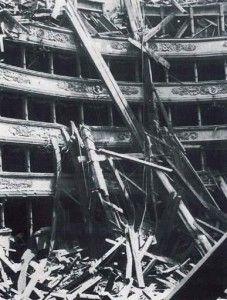Teatro alla Scala bombe Milano agosto 1943   #TuscanyAgriturismoGiratola