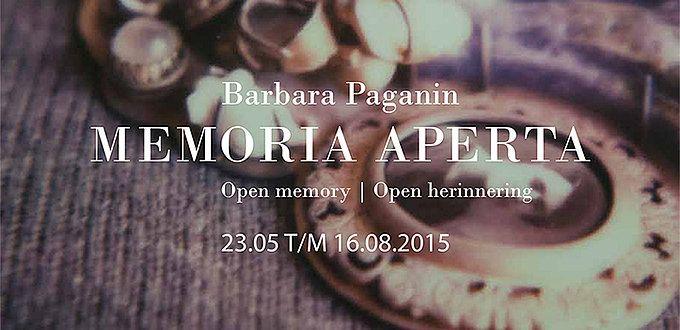 Memoria Aperta - Barbara Paganin  --  Memoria Aperta  Brooches by Barbara Paganin  CODA Museum -  Apeldoorn, Netherlands 23 May-16 Aug 2015