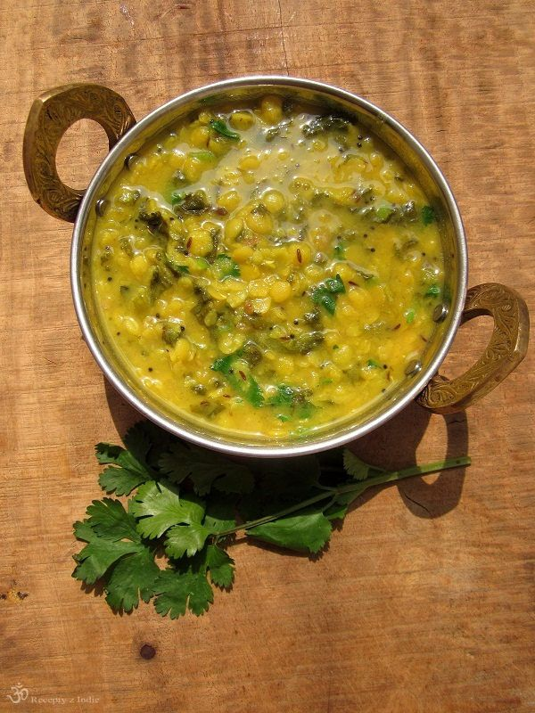 Dal Palak / Dal with spinach