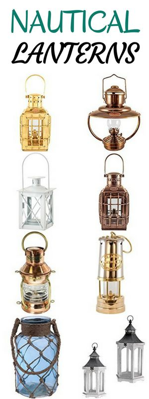 Check out all of the best nautical lanterns you can buy for your beach home!  We have a huge list of our favorite nautical themed lanterns to light up and add style & decor to your home.