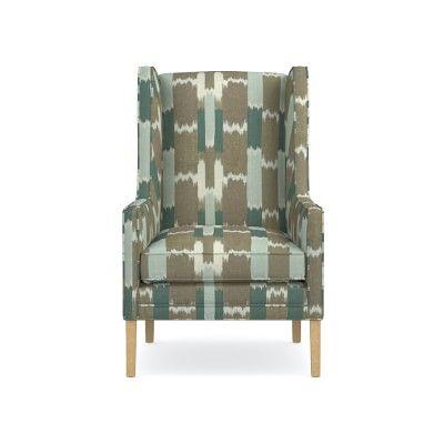 Arlington Chair, Acoustic Wave, Driftwood