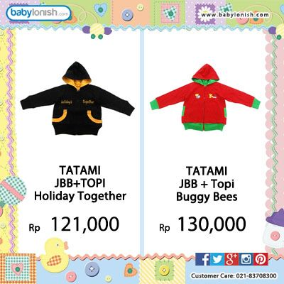 Pastikan si kecil hangat dengan Jaket bolak balik dari Tatami.  Gratis ongkir seluruh Indonesia. Bersertifikat SNI.