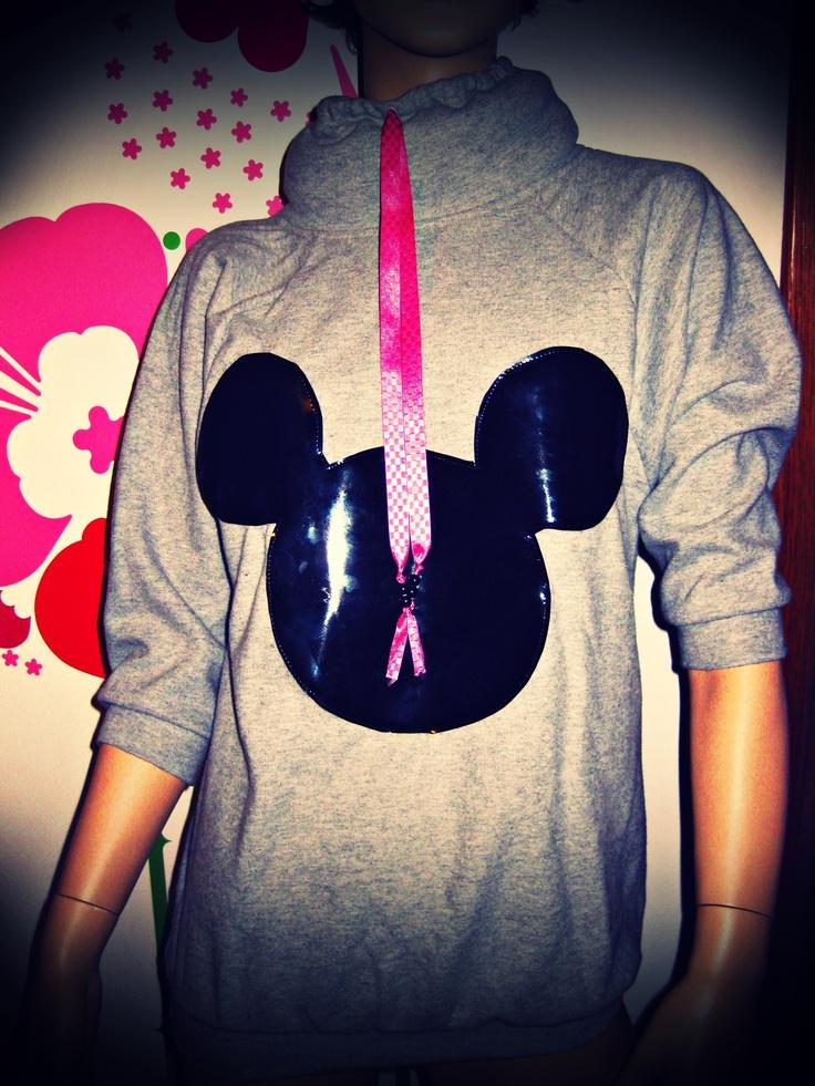 Minnie.Fluffy.Collar.AnTanTe.Hoodie