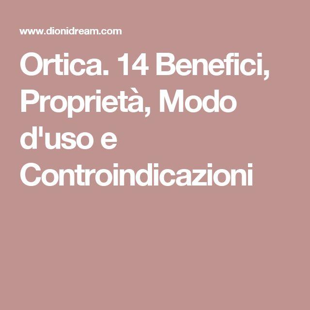 Ortica. 14 Benefici, Proprietà, Modo d'uso e Controindicazioni